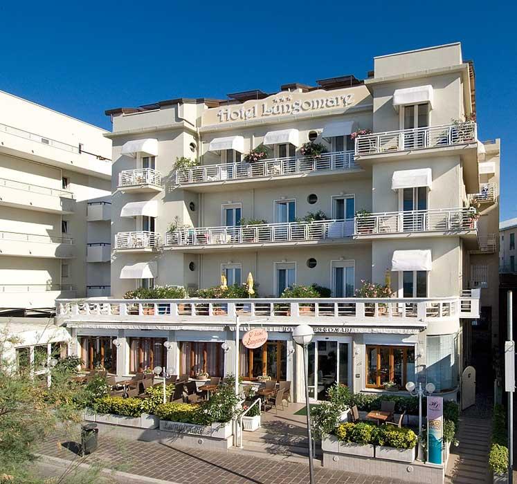 Hotel Lungomare Cattolica, Romantic and Family Hotel