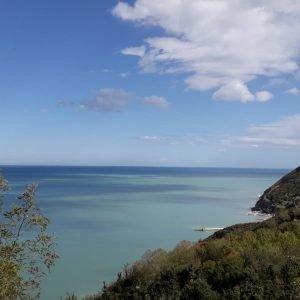 foto scattata a Gabicce Monte, con vista sulla Baia Vallugola